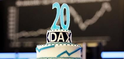 Geburtstagstorte für den Dax: Wechselvolle Geschichte
