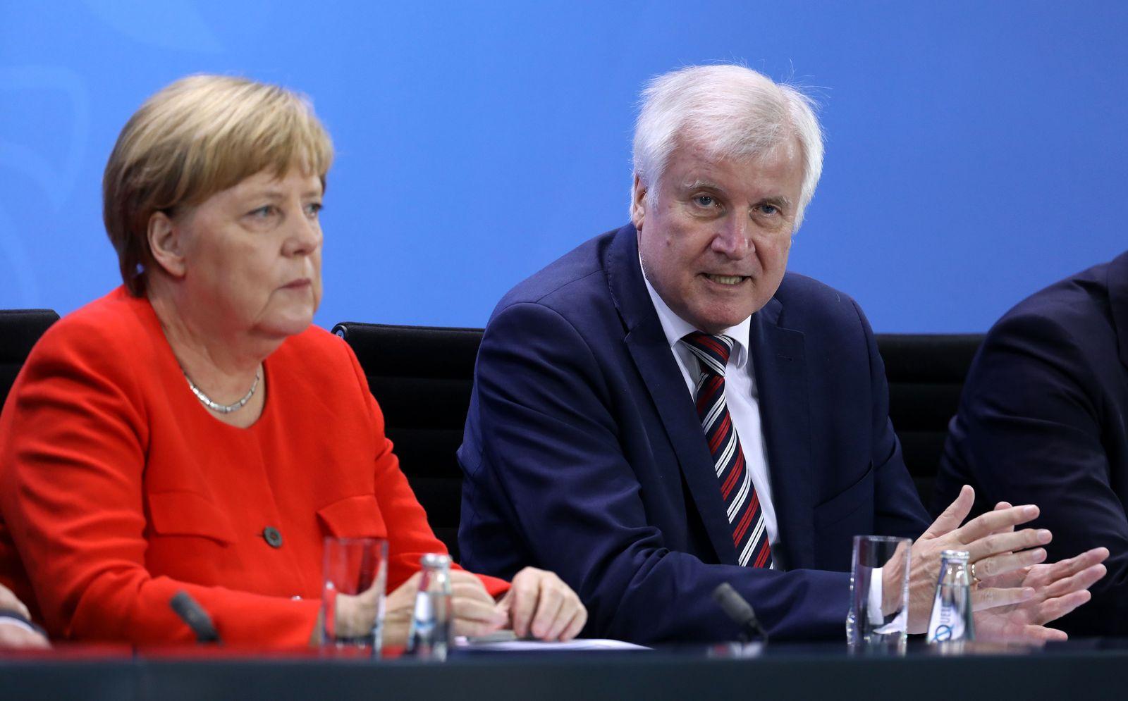 Merkel/ Seehofer