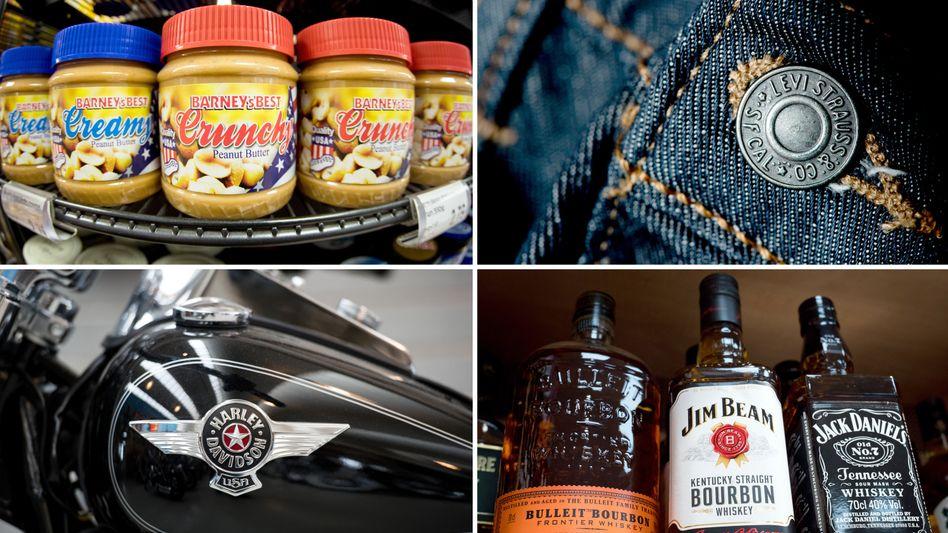 Erdnussbutter, Jeans, Motorräder, Whiskey - Amerikanische Produkte auf der EU-Liste