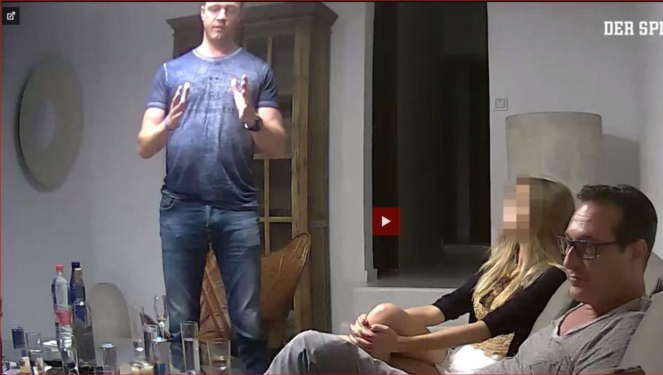 """Screenshot aus Strache-Video: """"Keine Hinweise auf Manipulation"""""""