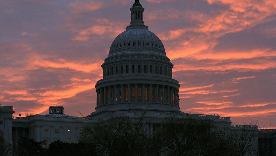 """Das Kapitol in Washington: """"Die Probleme in Amerika sind noch größer als im Euro-Raum"""""""