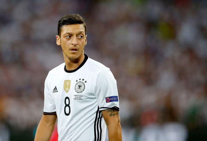 Former German national team footballer Mesut Özil: once a poster boy for a diverse Germany