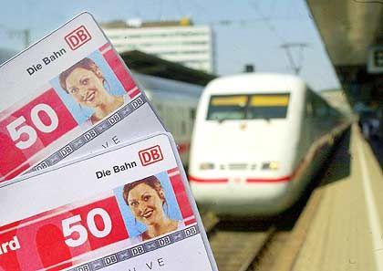 Bahncard 50: Ab Dezember werden die Karten teurer.
