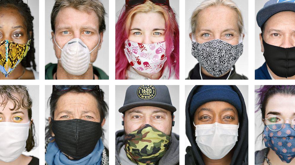 """Ein Stück (Zünd)Stoff: Für die einen ist die Maske die einzige Chance im Kampf gegen das Virus, für die andere ein Mittel zur """"Aufrechterhaltung der Angst"""""""