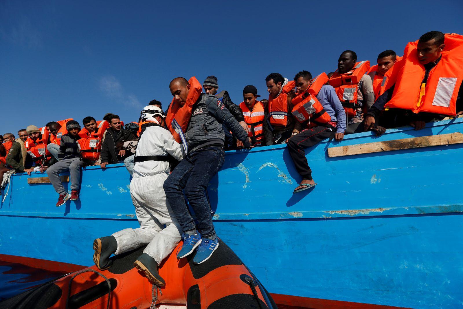 Libyen/ Flüchtlinge/ Hilfe