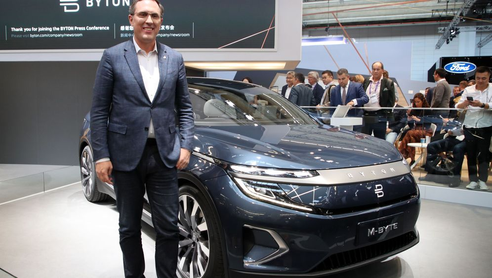 Byton M-Byte: Kampfansage an Mercedes und Audi