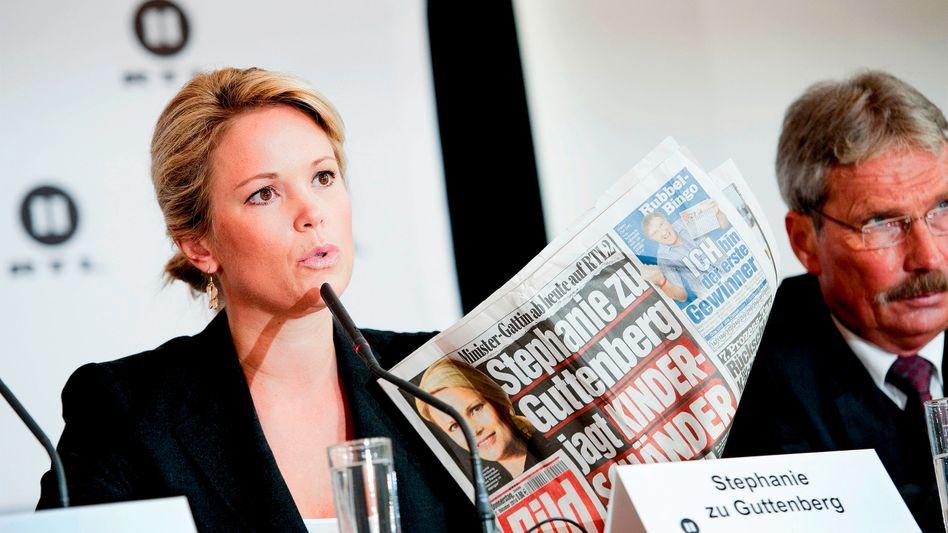 Ministergattin Stephanie zu Guttenberg: Hysterie und Unfug als Sendekonzept