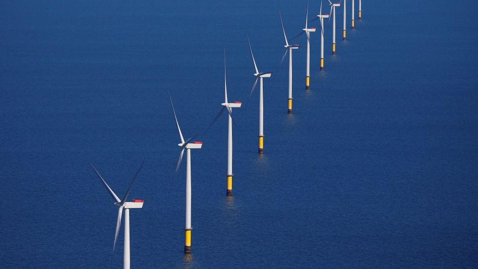 Offshore-Windpark vor der britischen Küste: Mehr Wachstumsfantasie geht kaum