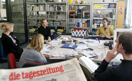 """""""taz""""-Redaktion in Berlin: """"Mit Wohlwollen beobachtet"""""""