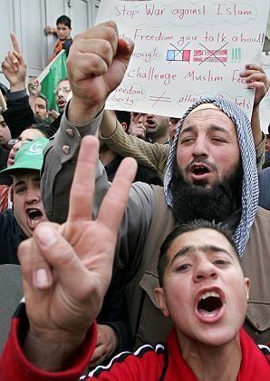 Hebron: Aufgebrachte Palästinenser protestieren seit Tagen gegen die Karikaturen