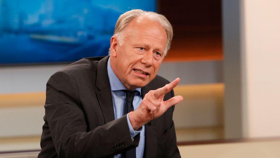 """Jürgen Trittin: """"Ich finde es lustig, wenn Sozialdemokraten uns warnen, mit dem """"Klassenfeind zu kollaborieren"""" (Archivbild)"""