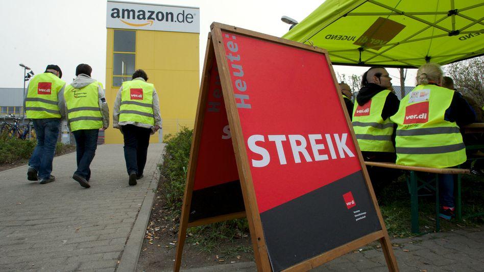 Arbeitskampf: Amazon-Mitarbeiter starten zweitägigen Streik