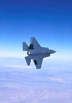 JSF-Entwurf von Lockheed: 200 Milliarden Dollar Auftragssumme