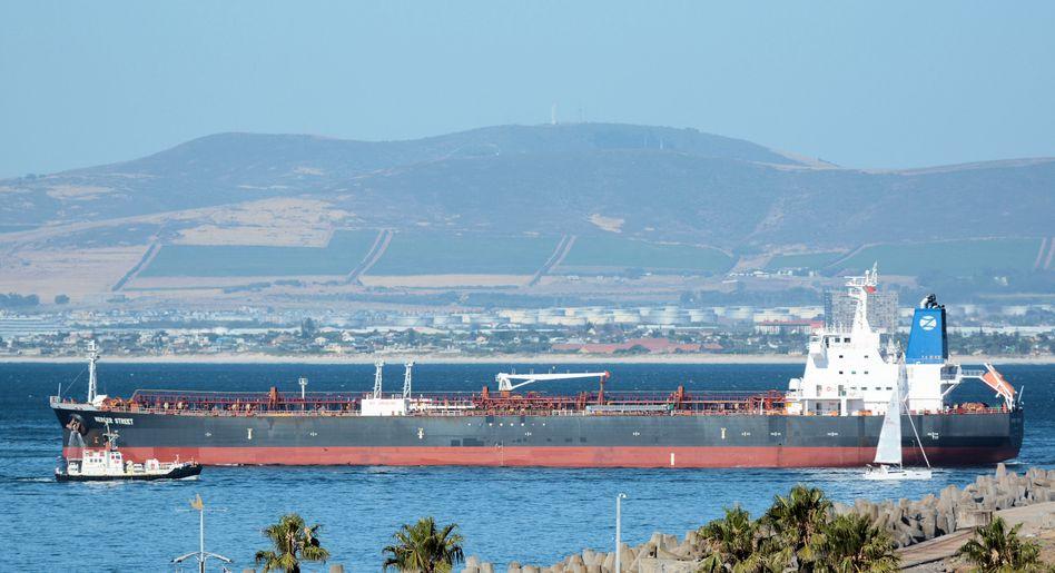 Öl-Tanker »Mercer Street«, hier in der Nähe von Kapstadt (Archivbild)