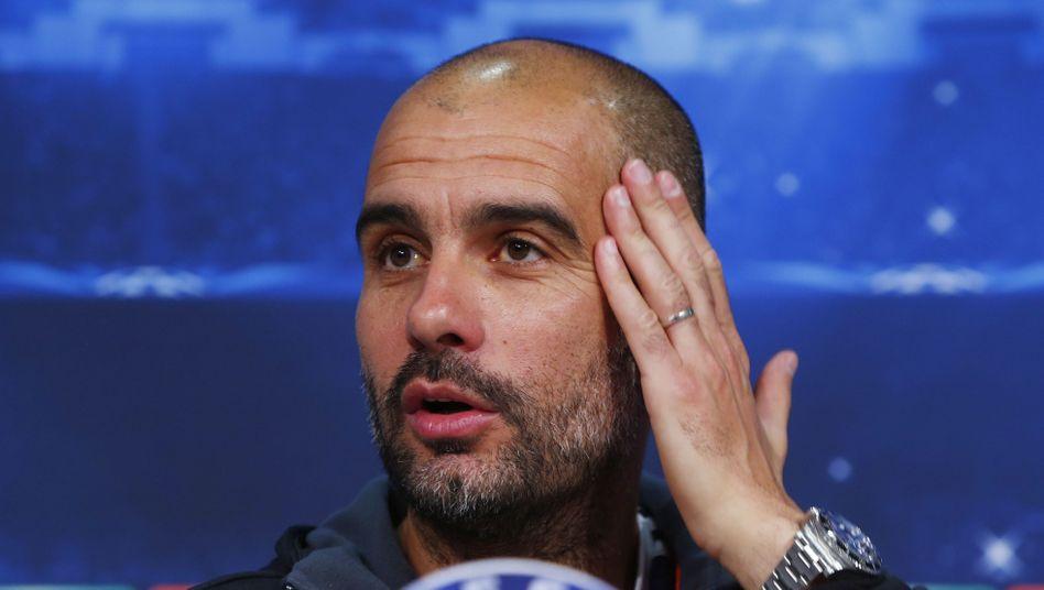 """Bayern-Trainer Guardiola: """"Ich habe mein Bestes gegeben"""""""