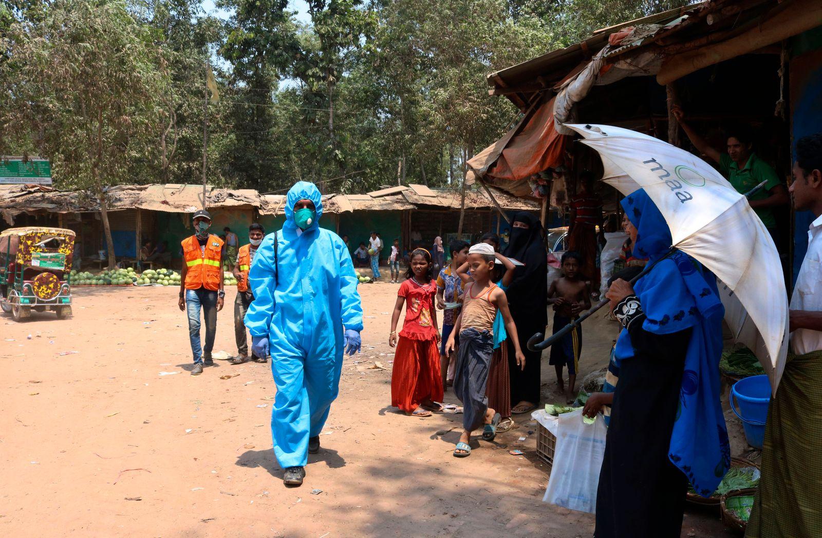 Virus Outbreak Refugees At Risk