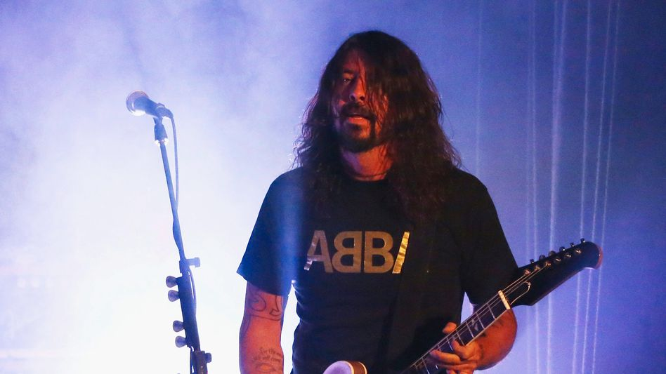Dave Grohl: Selbst eine »dancing queen«