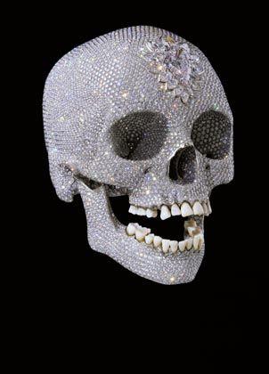 Hirsts Diamantenschädel: Brillanter Kopf, viel Cash