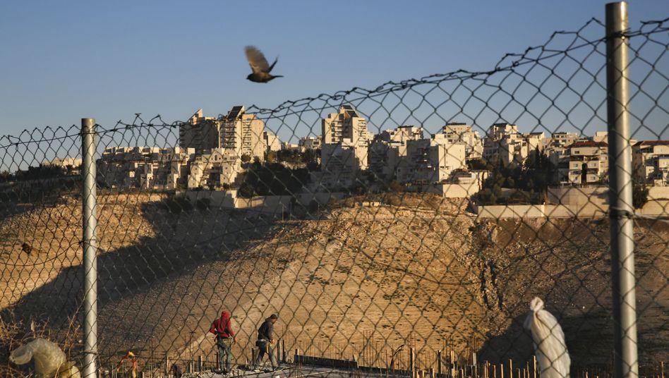 Israelische Siedlung im Westjordanland