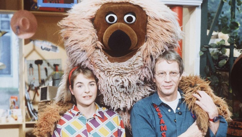 Gernot Endemann mit Samson und Kirsten Sprick