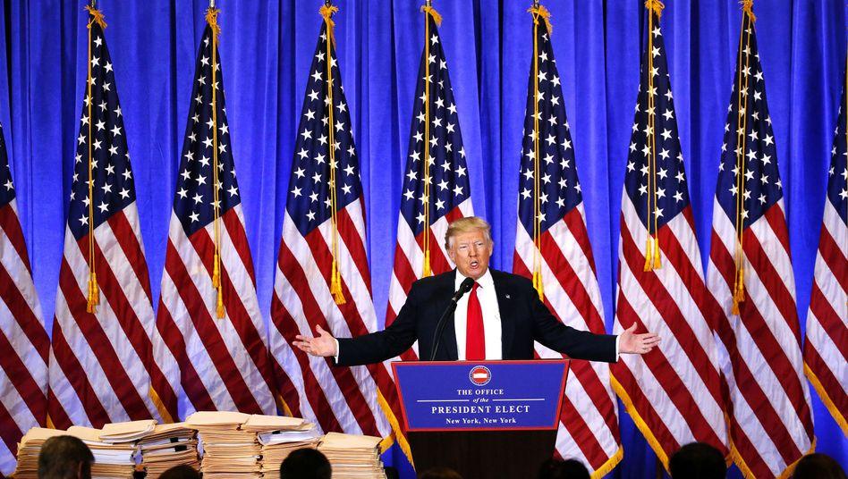 """Trumps Zornüber US-Geheimdienste und Medien: """"Absolute Schande"""""""
