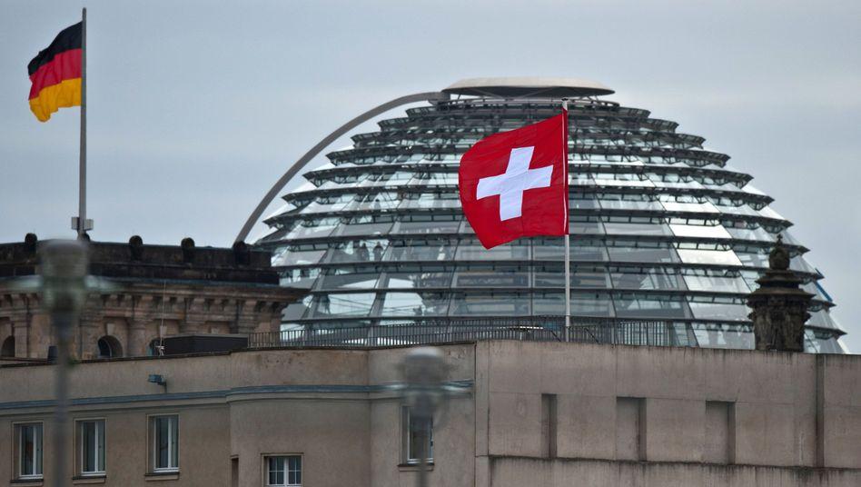 Bundestag, Schweizer Botschaft: Sogar die Kollegen aus Baden-Württemberg hielten stand