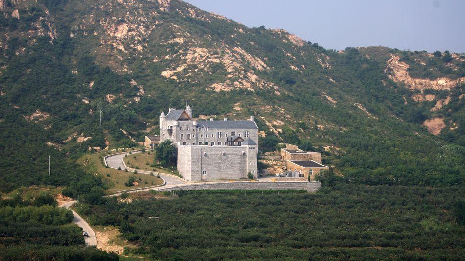 Rothschild-Weingut in China