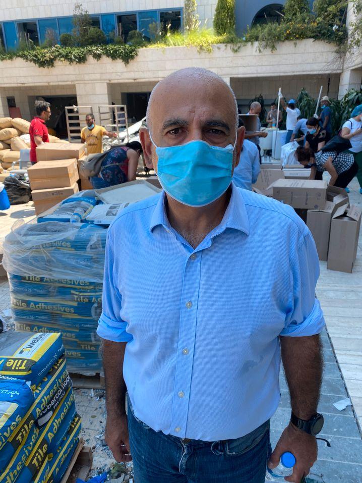 Edgard Joujou, CEO des Krankenhauses: sofort evakuiert