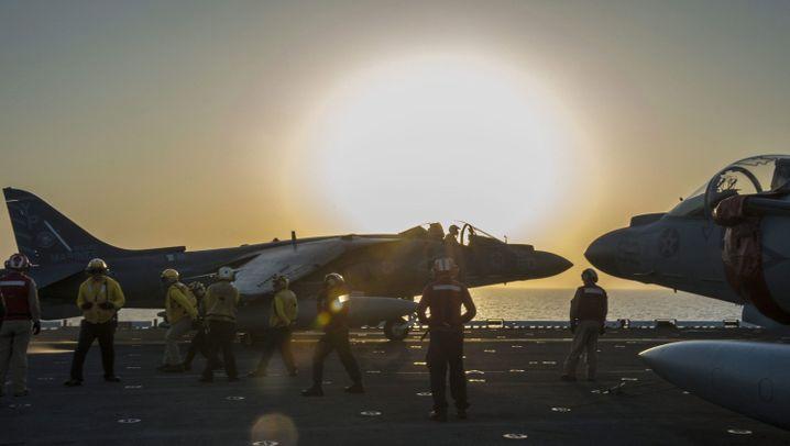 """Luftangriffe in Syrien: Schlag gegen den """"Islamischen Staat"""""""