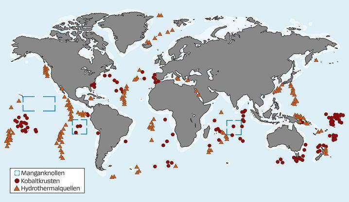 Rohstoffvorkommen der Weltmeere