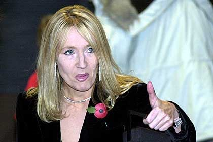 """Bestseller-Autorin Rowling bei der Premiere: """"Glücklich und erleichtert"""""""