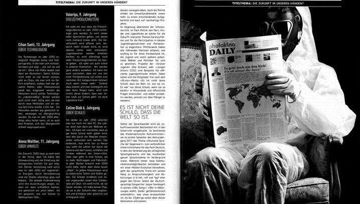Schülerzeitungswettbewerb: Sieger in der Kategorie Foto