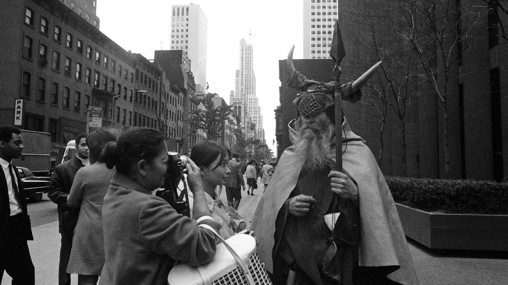 Musiker Moondog: Von Manhattan nach Recklinghausen