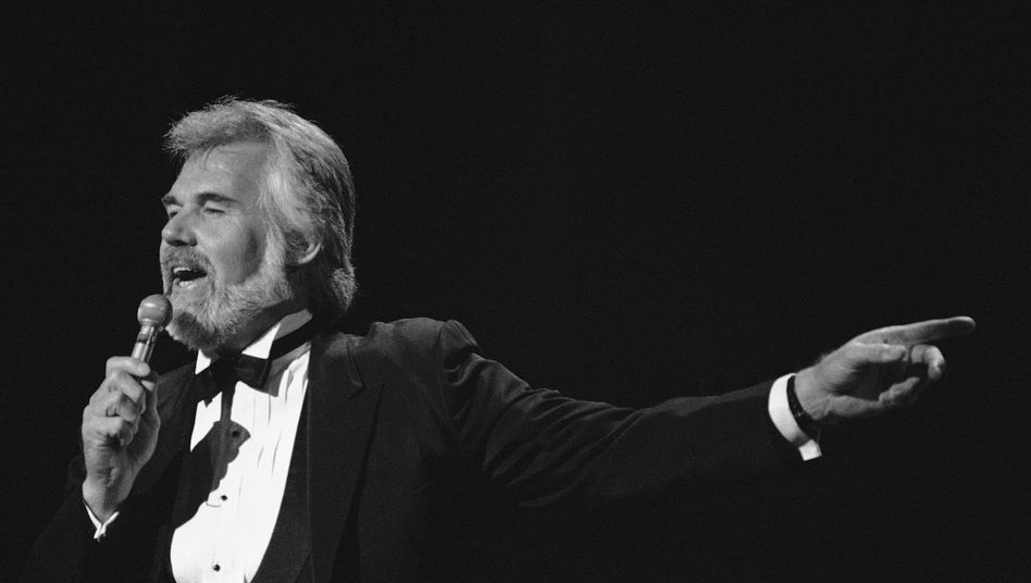 Kenny Rogers., hier bei den American Music Awards 1984