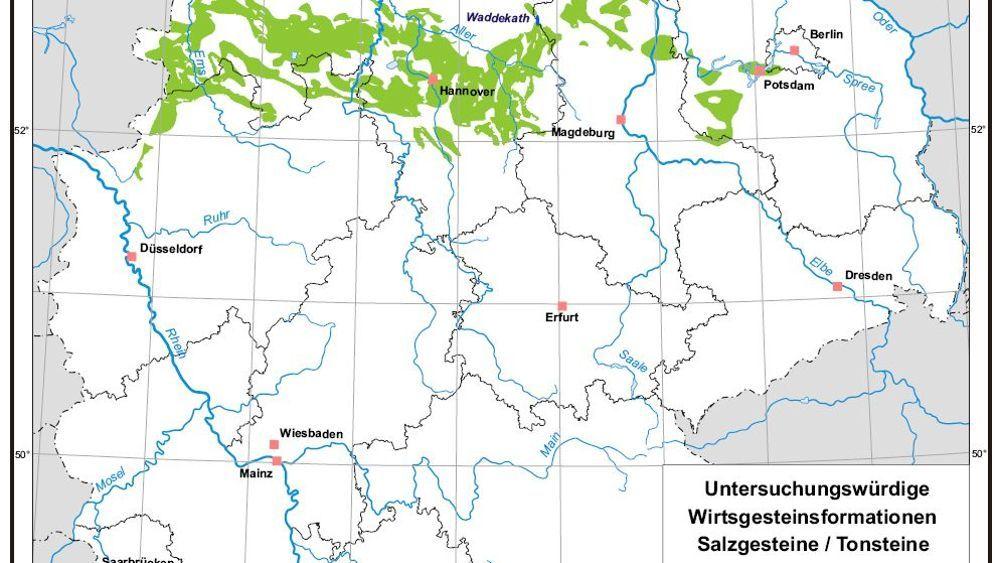 Neustart fürs Endlager: Suche in ganz Deutschland