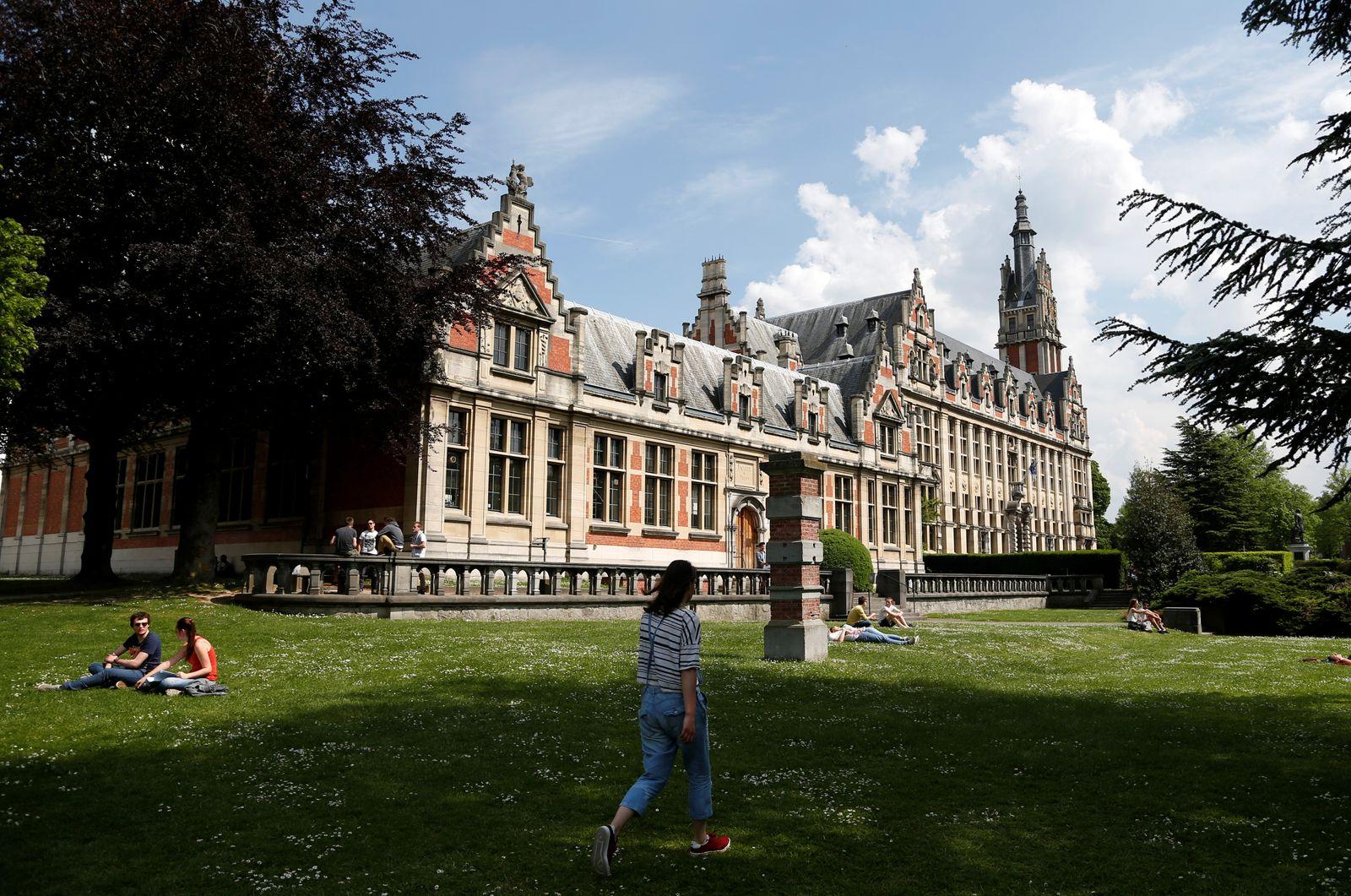 """university ULB """"Universite libre de Bruxelles"""""""
