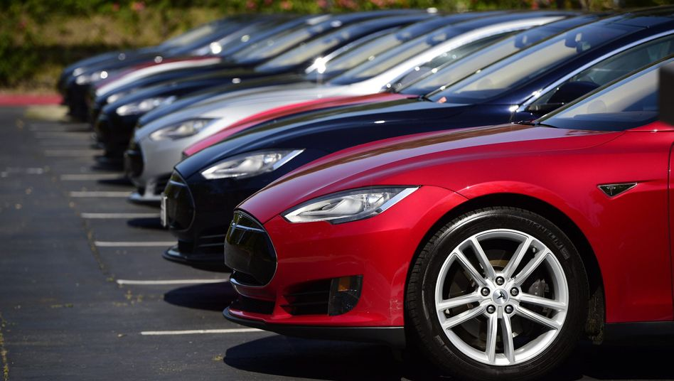 Tesla Model S-Autos (Archivbild)