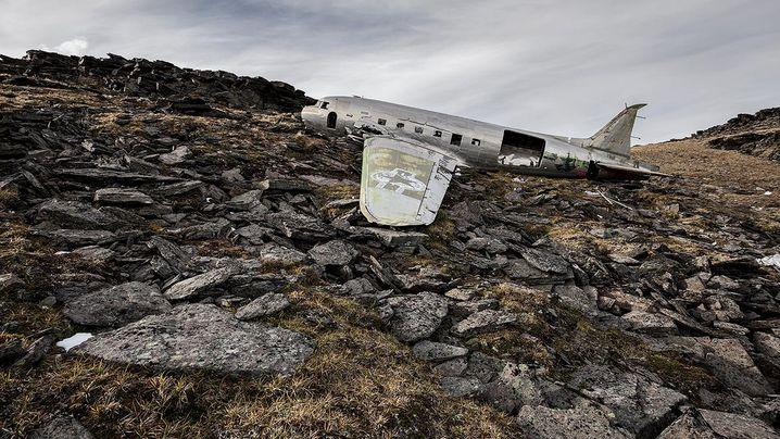 Fotoserie: Flugzeugwracks - die Schönheit nach dem Crash