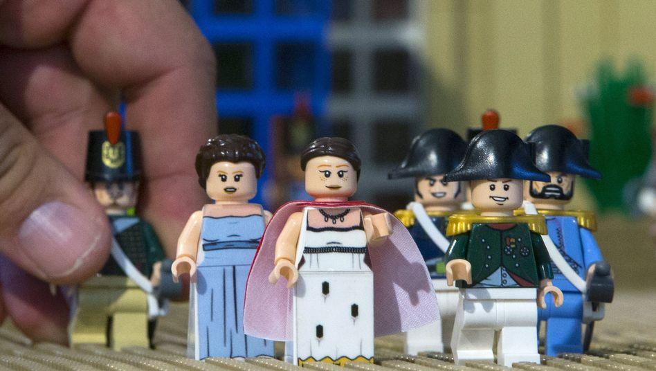 Lego-Figuren: Noppe nur einzelnes Element des Gesamtdesigns