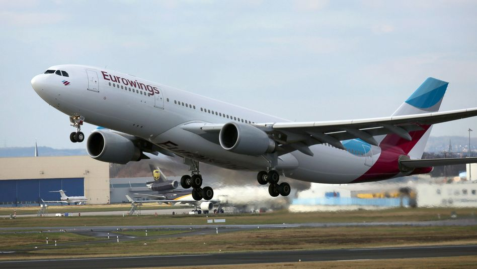 Airbus der Lufthansa-Tochter Eurowings