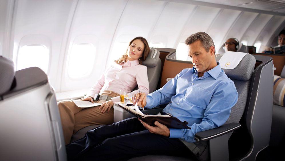Neue Business Class der Lufthansa: Schlafliege mit Füßel-Effekt