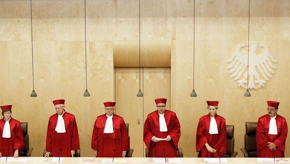 Verfassungsrichter in Karlsruhe: Schwarz-Gelb droht Schlappe bei Wahlrecht