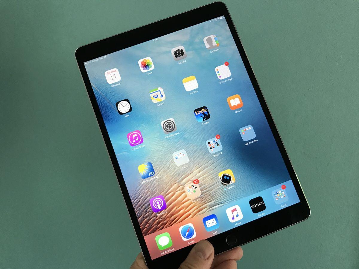 Apple iPad Pro 10.5 - SPERRFRIST 12.6.17/ 13 Uhr