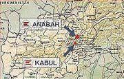 "Lageplan der ""Emergency""-Krankenhäuser im Norden Afghanistan"