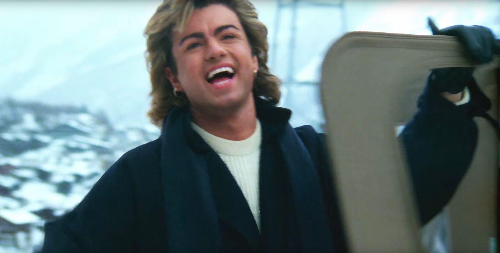 EINMALIGE VERWENDUNG ZITAT Screenshot/ Last Christmas/ George Michael