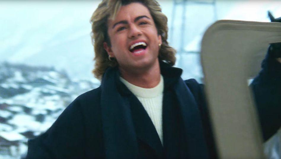 George Michael im überarbeiteten Clip: Die Zähne strahlen weißer als 1984