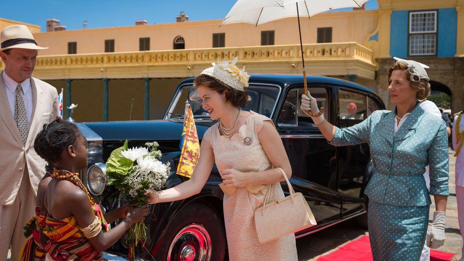 """Darstellerin Claire Foy als Königin Elizabeth in """"The Crown"""": """"Ihr Interesse galt immer dem Erhalt des Commonwealth"""""""