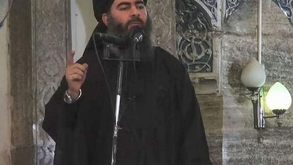 """IS-Chef Bagdadi: """"Habt Geduld, denn Gott ist mit euch"""""""
