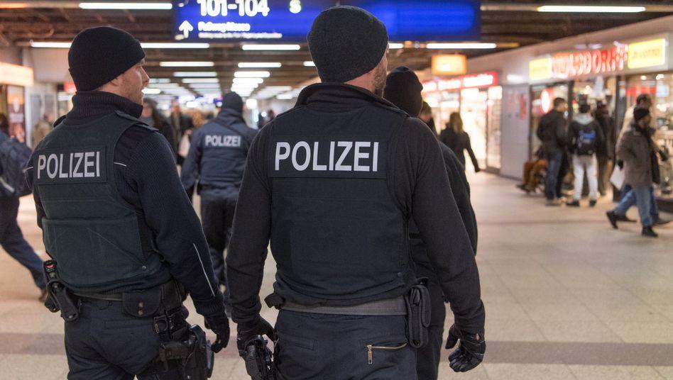 Bundespolizisten (Symbolbild)