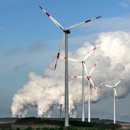 Windkraftwerk: Klimaschutz ist nötig - aber teuer